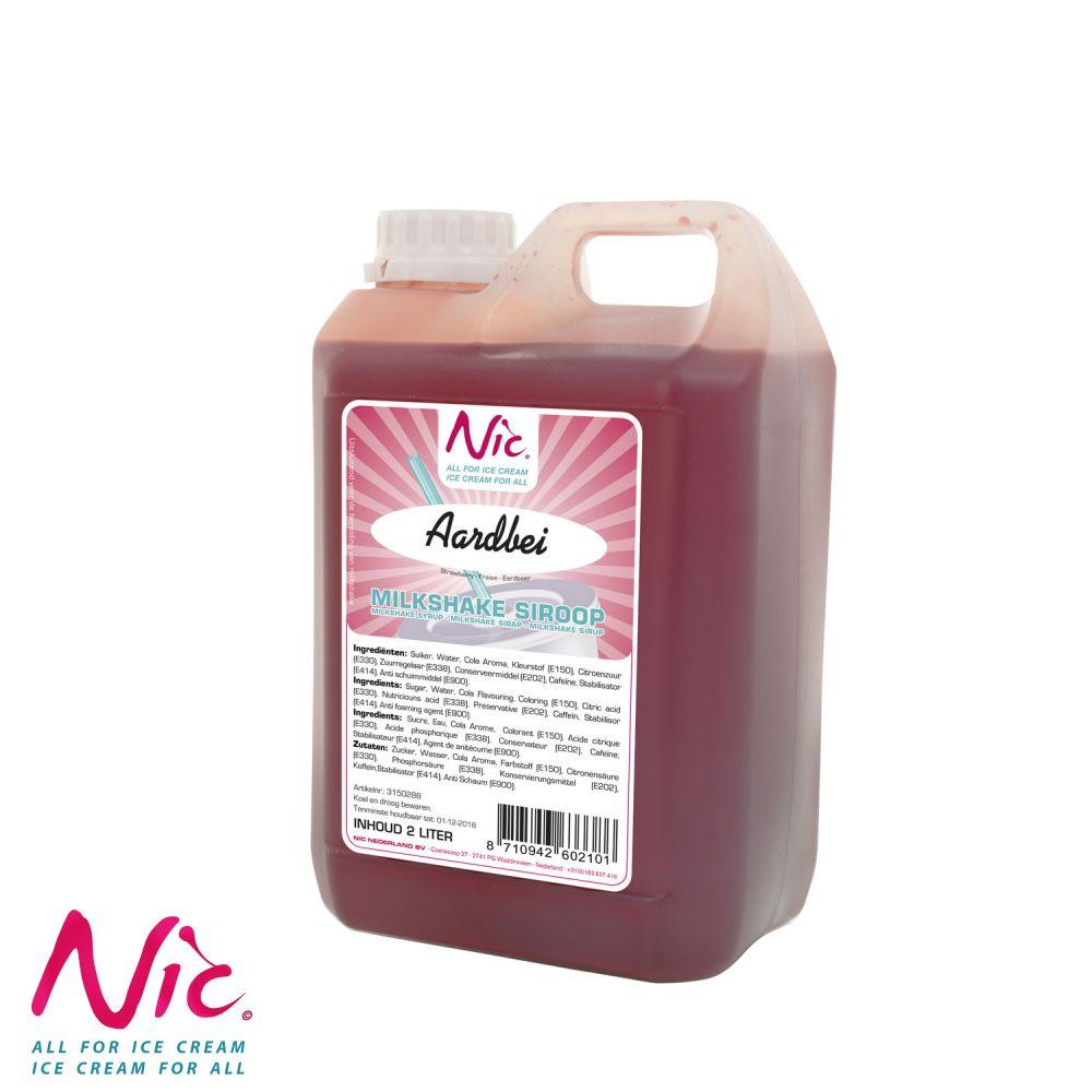 NIC Shake Syrup - Eper Image