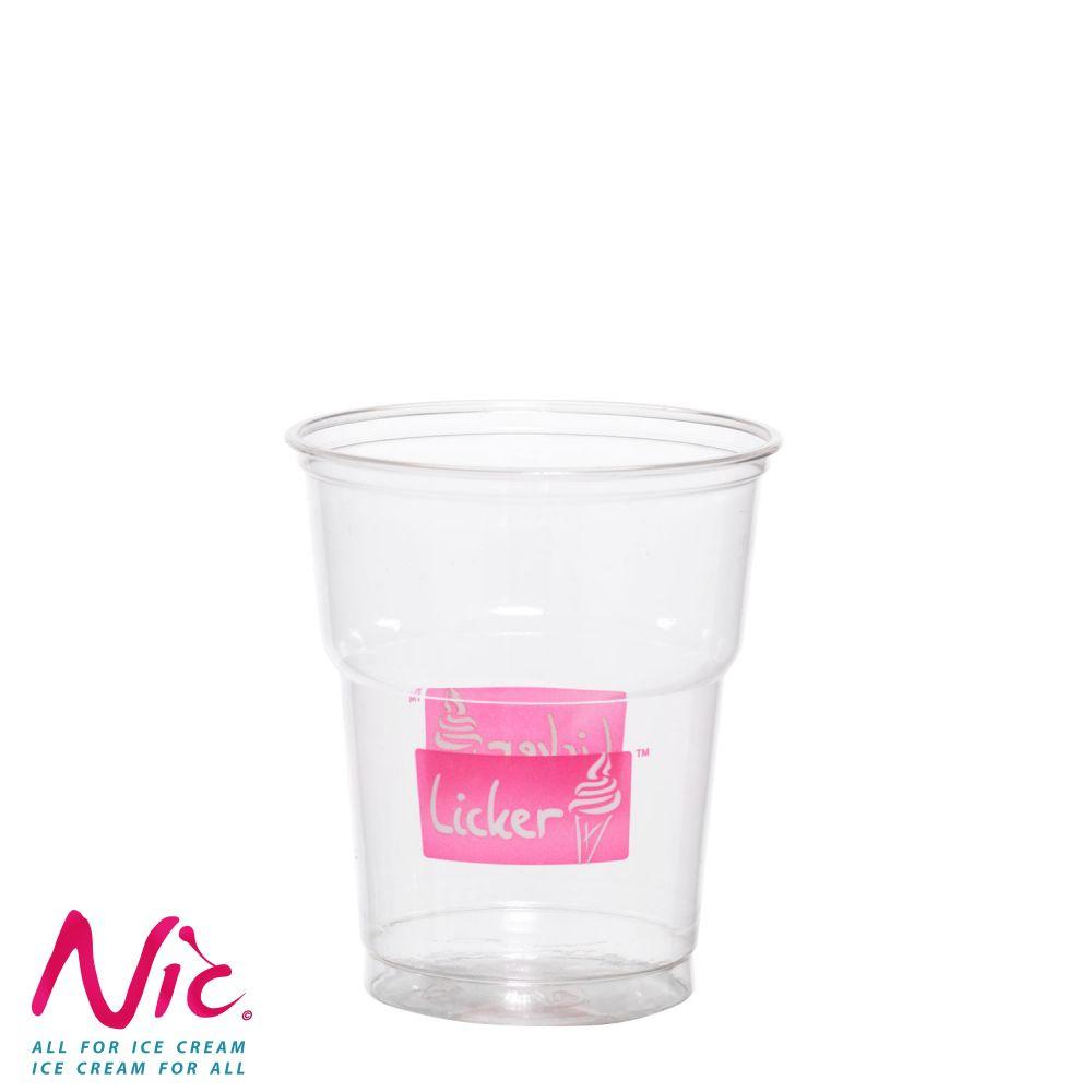 Licker műanyag pohár Image