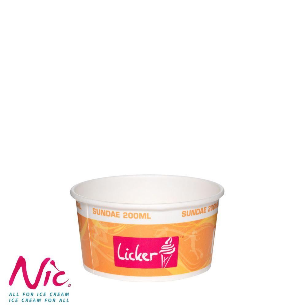 Licker papírpohár Image