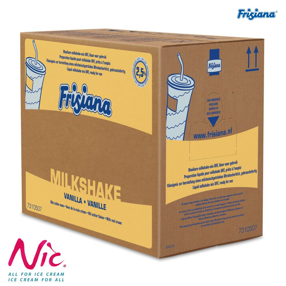 Frisiana Milkshake likvid Image
