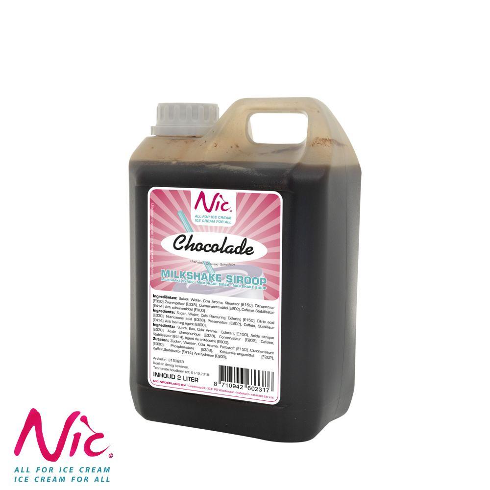 NIC Shake Syrup - Csokoládé Image