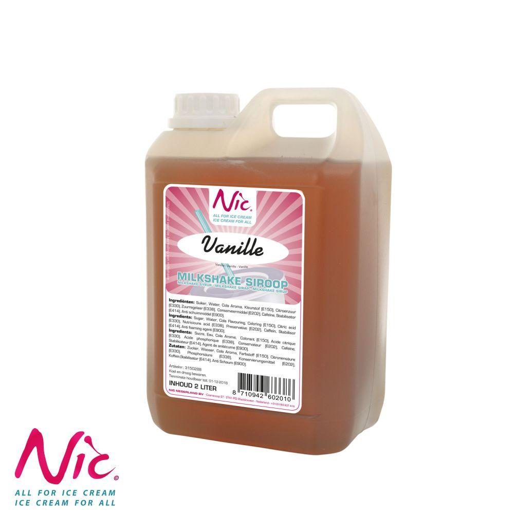 NIC Shake Syrup - Vanília Image
